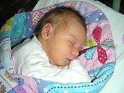 ADÉLA Tomášková z Chomle se narodila ve čtvrtek 13. července 2017 v hořovické porodnici U Sluneční brány manželům Janě a Vladimírovi Tomáškovým. Adélka vážila po příchodu na svět 3,05 kg. Jméno holčičce vybral její dědoušek.