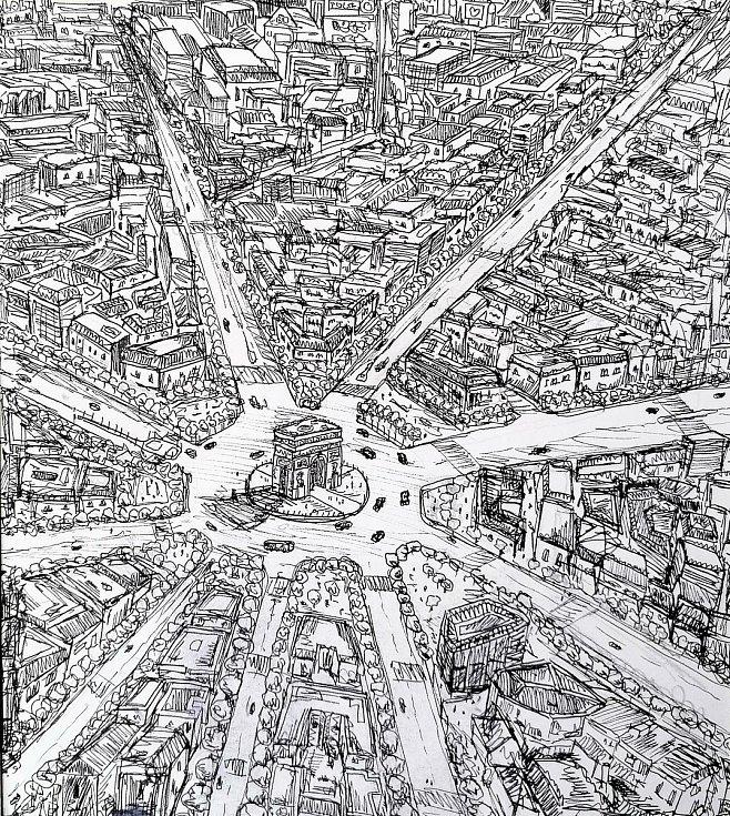 1. místo: Paříž. Autor: Adam Zábran.