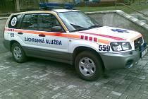 Nový vůz berounské záchranky.