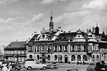 Hořovické náměstí v roce 1951.