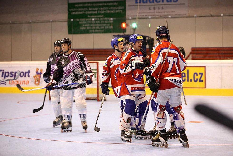 Berounští Medvědi ve finále extraligy in-lline hokeje obhájili titul