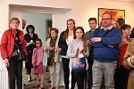 Akademický malíř Zbyněk Novotný má výstavu k životnímu jubileu.