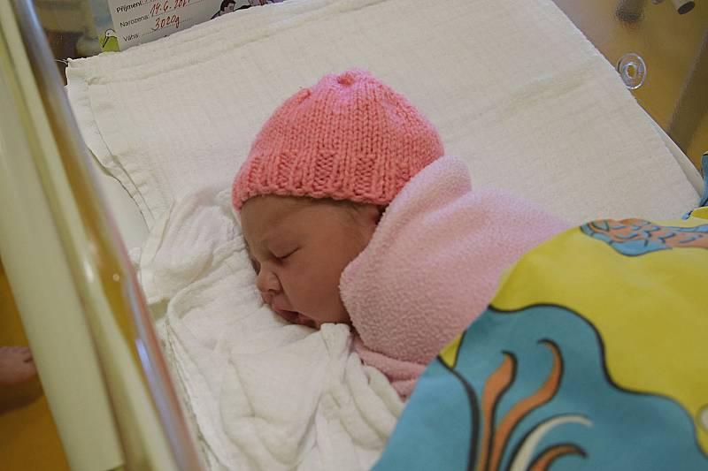 Leontýna Petráňová se manželům Miluši a Janovi narodila v benešovské nemocnici 14. června 2021 v 1.34 hodin, vážila 3020 gramů. Doma v Bystřici na ni čekala sestřička Anna (3).