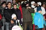 Berounským náměstím se rozléhal zpěv vánočních koled.