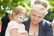 Třetí setkání předčasně narozených dětí se uskutečnilo v hořovickém parku.