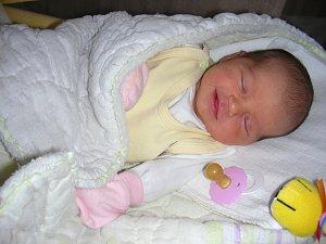 KAMILA prvně pohlédla na svět 4. května 2018. Rodiče mají z Kamilky velkou radost.