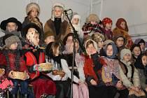 Betlémský příběh v podání žáků Základní a mateřské školy Počaply