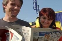 DENÍK je u čtenářů velice oblíbený. Co se týče čtenosti, patří mu mezi seriózními novinami první místo v ČR. Vyplývá to z průzkumu společností GfK Praha a Median zveřejněného ve čtvrtek