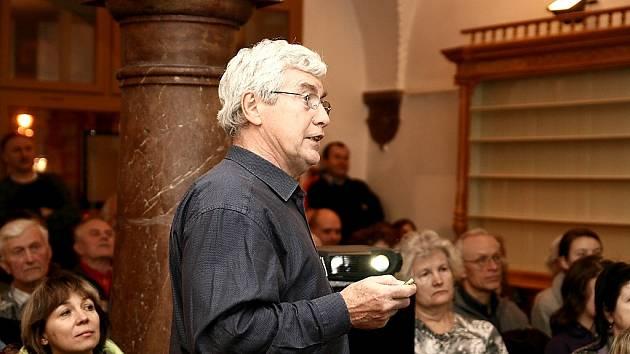 Jiří Grygar v Berouně