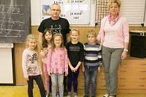 Prvňáčci z Neumětel ve školním roce 2019/2020.