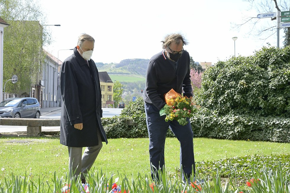 V Berouně si připomněli 76. výročí Dne vítězství v Evropě