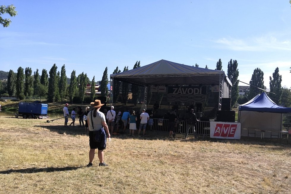 Z 8. ročníku festivalu Závodí v Berouně.