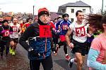 Z tradičního Vánočního běhu v Komárově.