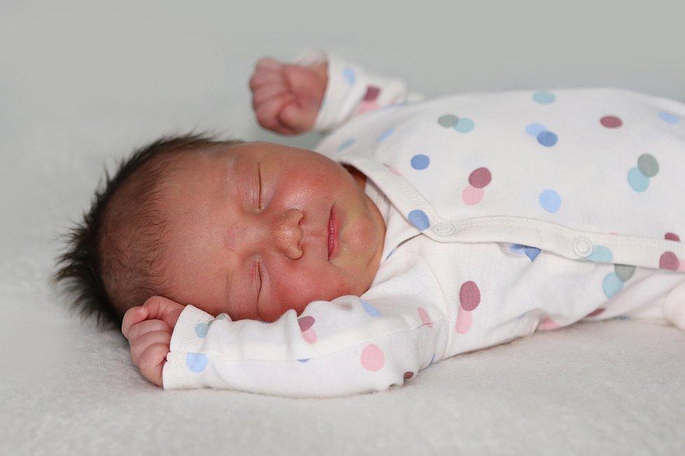 Elena Doubravová se narodila 13. června 2021 v Příbrami. Vážila 4090g a měřila 50cm. Doma v Podlesí ji přivítali maminka Eliška a tatínek Jakub.