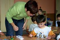 Prázdninová rekostrukce drozdovské školy a mateřinky nijak neovlivnila začátek školního roku.