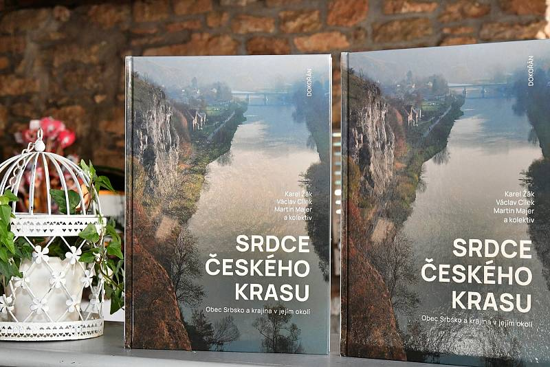 Křest knihy Srdce Českého krasu - Obec Srbsko a krajina v jejím okolí.