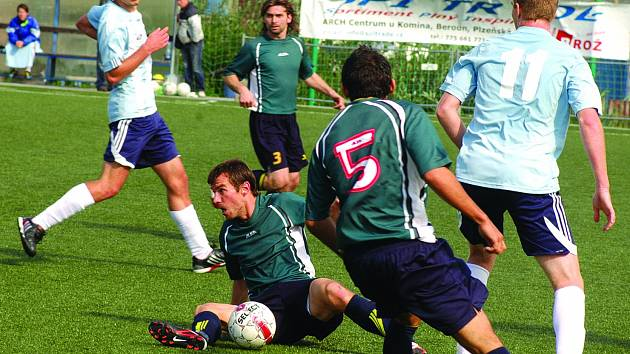 Fotbal: ČLU Beroun - Radek Klička