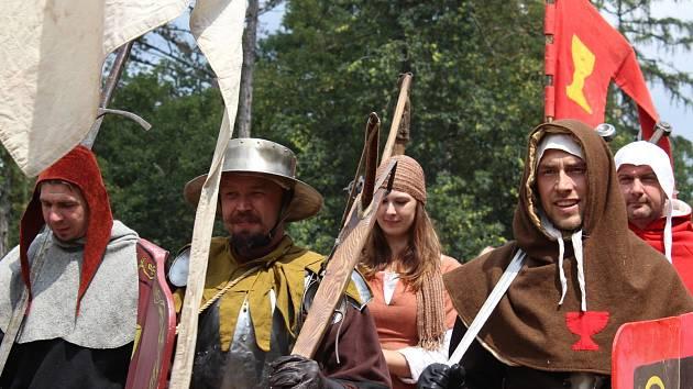 Hrad Točník ožil středověkým světem husitských dob.