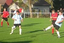Fotbal, okresní přebor: Stašov - Chlumec 1:1
