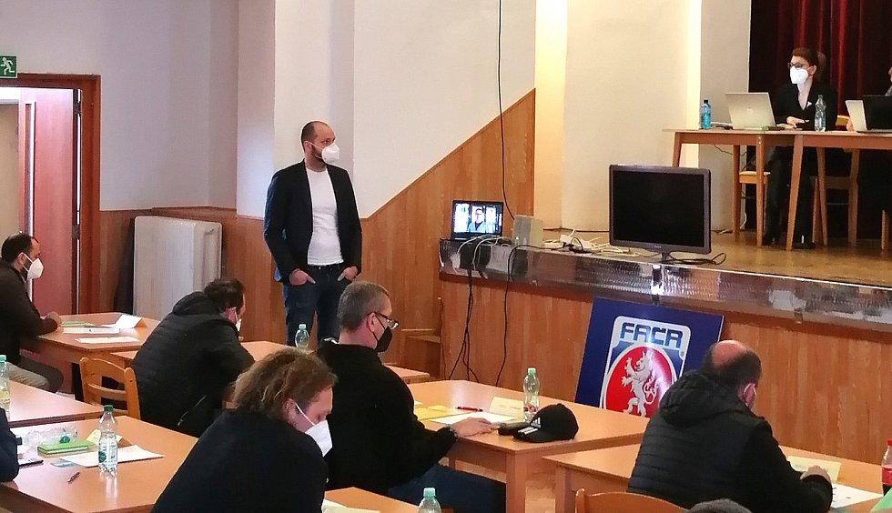 Václav Kudrna kandidoval neúspěšně na předsedu OFS Beroun.