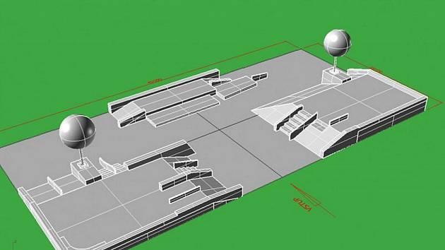 Projekt berounského skateparku