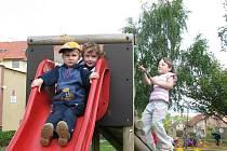 Děti v mateřské škole v Hořovicích