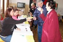 Druhé kolo senátních voleb na Berounsku