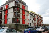 Nová bytová zástavba v berounské lokalitě Na Paloučku se stále rozrůstá