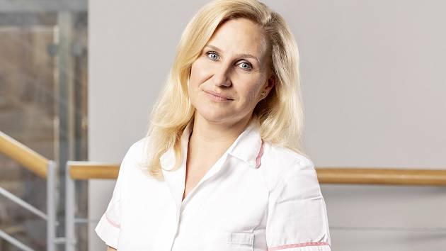 Irena Smutná, vrchní sestra centrálního příjmu Nemocnice Hořovice.