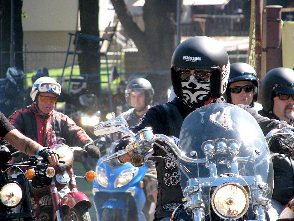 Motorkářský cvoček Hořovice 2016