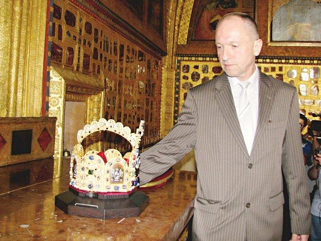 Jaromír Kubů je kastelánem Karlštejna už 25 let