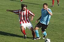 Fotbal: Cerhovice hrály na Doubravce s Holýšovem