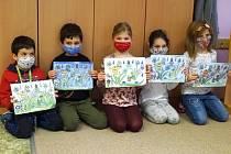 Tvoření na téma Jů a Hele ve školní družině.
