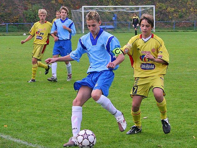 Liga žáků: Hořovice - Příbram 3:3