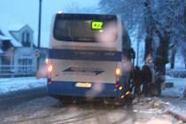 Autobusy měly zpoždění