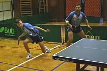 Stolní tenisté Králova Dvora nedarovali soupeřům na svých stolech jediný bod