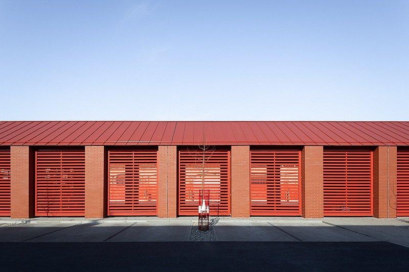 Stavba roku 2020 - nominace - Líbeznice, hasičárna