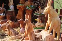 Velikonoční postní betlém v Berouně.