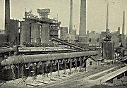 Králodvorské železárny jsou spjaty s historií Králova Dvora už desítky let. Rok 1911.