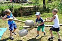 Občanské sdružení Spolek Fištrón pořádá v areálu zahrady Zvířátkov řadu zajímavých ackí