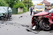 Nehoda v Řevnicích