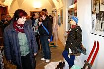 Oblečení, nábytek i spotřebiče, které byly běžné v 60. letech si přišli prohlédnout mladí i starší návštěvníci