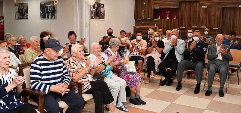Z oslavy desátého výročí otevření Domova pro seniory Tomáše Garrigue Masaryka v Berouně.