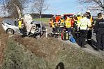 Tragická dopravní nehoda na silnici II/118 Na silnici č. 118 mezi Železnou a Libečovem.