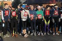 Vánoční běh Komárovem 2009