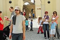 Turisté v Nižboru