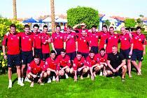 Fotbal: Králův Dvůr v Egyptě