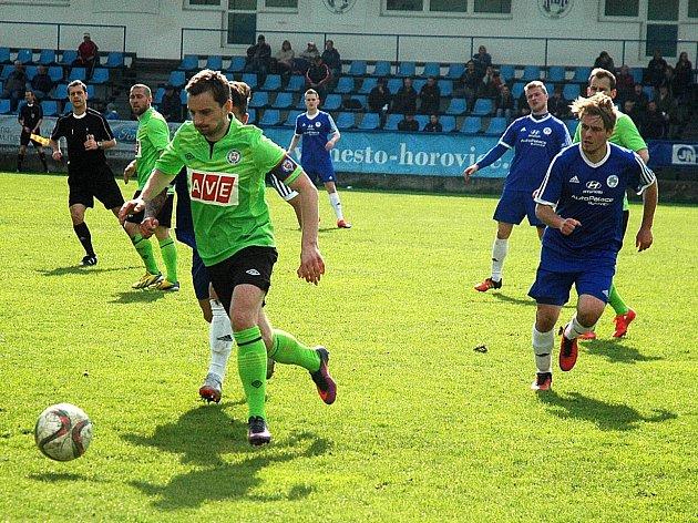 Hořovicko zdolalo Benátky na penalty.