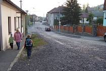 Dolní ulice před rekonstrukcí