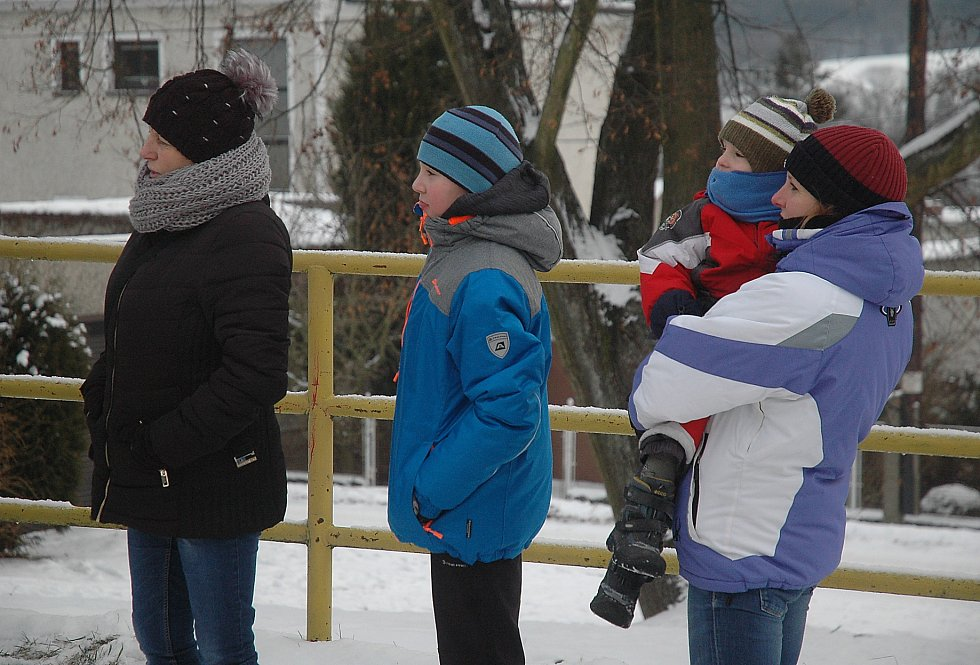 Běh partyzánskou stezkou v Oseku